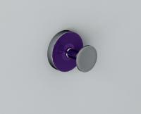 Vlathea ATLA Крючок ATF003 58x49,5x58 Фиолетовый