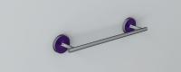 Vlathea ATLA Полотенцедержатель ATF030 58x77,6x358 Фиолетовый